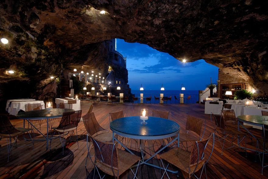 Hotel Ristorante Grotta Palazzese Polignano a Mare, Ιταλία