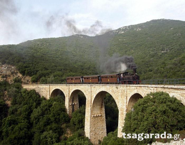 Παγκόσμια μοναδικότητα: Η πιο στενή σιδηροδρομική γραμμή στον κόσμο βρίσκεται στην Ελλάδα