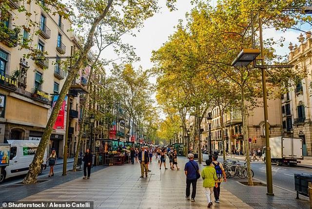 Las Ramblas Βαρκελώνη