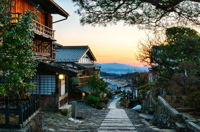 Εθνική οδός Nakasendo, Ιαπωνία