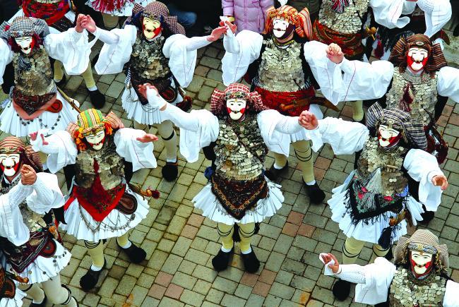 «Γενίτσαροι και Μπούλες», Καρναβάλι Νάουσας