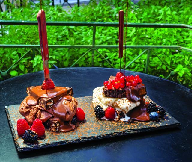 Το Σερμπετόσπιτο της Νάνσυ - γλυκοπωλείο Ψυρρή