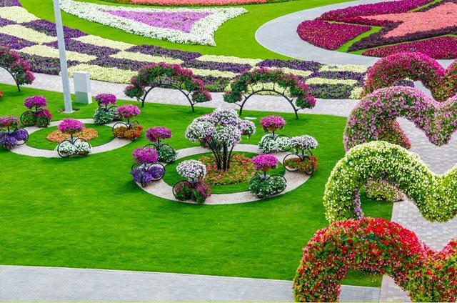 dinfo.gr - Ο κήπος των θαυμάτων στο Ντουμπάι