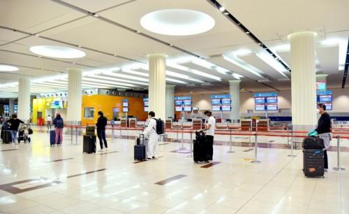 διάδρομος αναμονής στο αεροδρόμιο