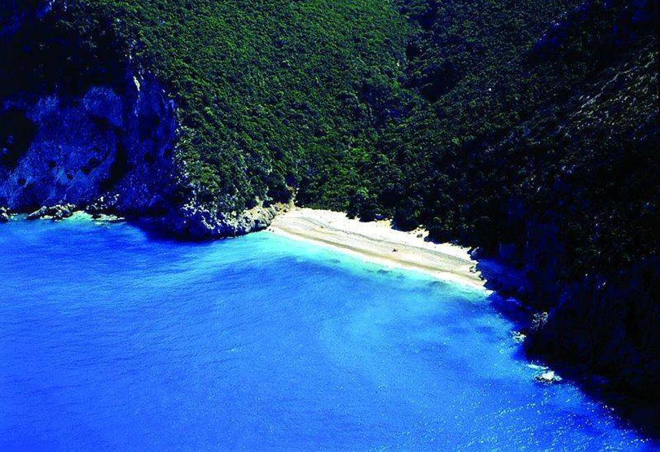 Παραλία Κουτσουπιάς από ψηλά