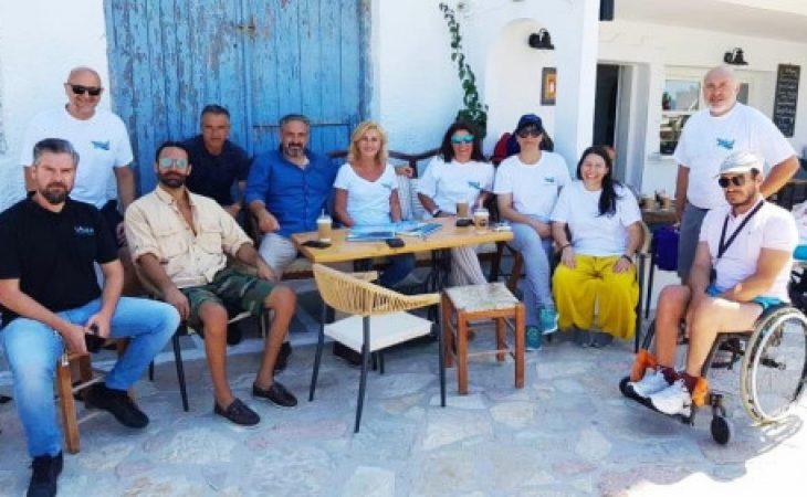 Κουφονήσια: Ράμπα για ΑμεΑ εγκαταστάθηκε σε παραλία
