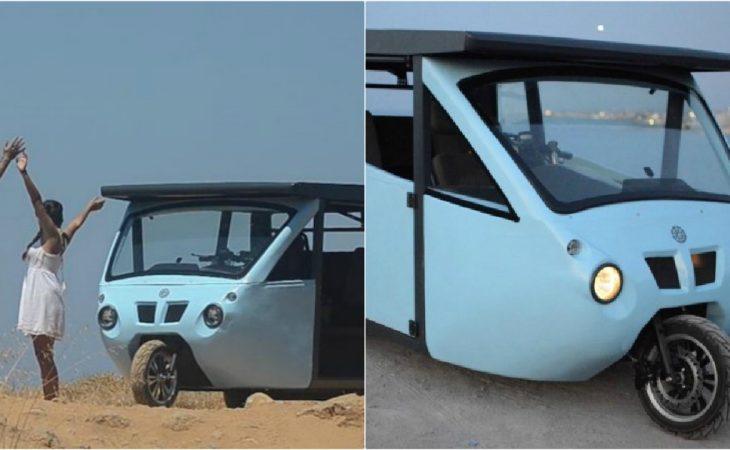 """Ηλιακό όχημα Κρητικών: Το πιο """"πράσινο"""" όχημα στον κόσμο!"""