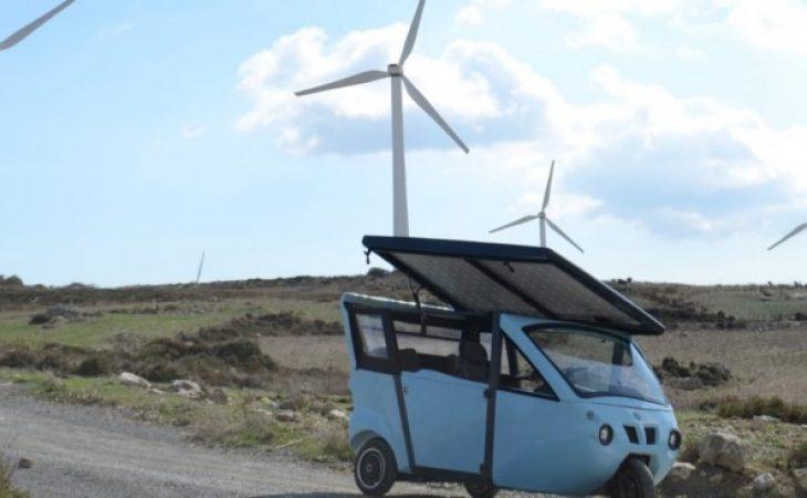 """Το ηλιακό όχημα των Κρητικών. Το πιο """"πράσινο"""" όχημα στον κόσμο είναι ελληνικό!"""