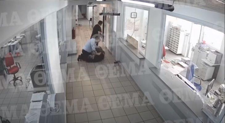 Επίθεση με τσεκούρι: Βίντεο από την επίθεση που σοκάρει
