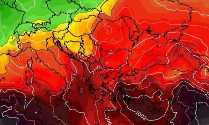 Καιρός Ιουλίου: Καυτό το τελευταίο 10ήμερο! Δείτε που θα φτάσει η θερμοκρασία