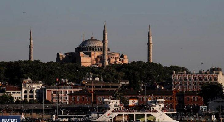 Αγιά Σοφιά: Σταματάν εκδρομές προς την Κωνσταντινούπολη τα γραφεία