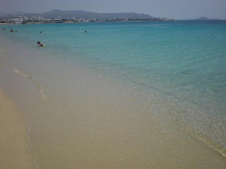 Άγιος Προκόπιος: H 1,5 χιλιόμετρο παραλία της Νάξου
