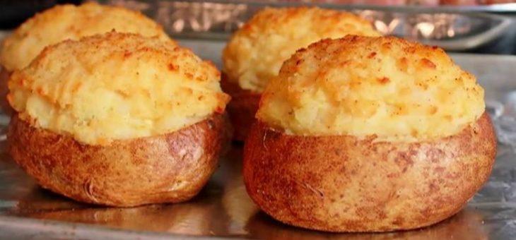 Γεμιστές πατάτες: Εύκολη συνταγή για αρχάριους, έτοιμη σε λίγα λεπτα