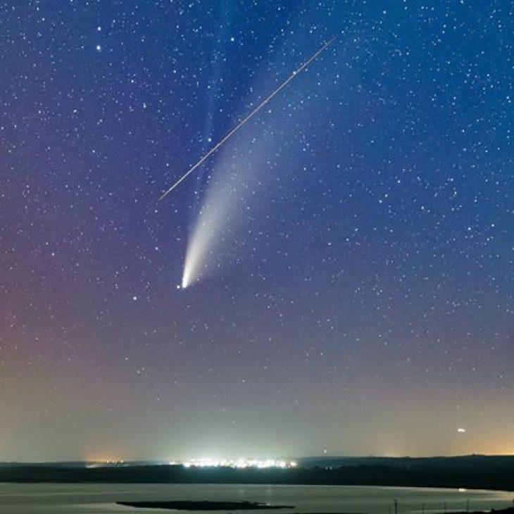 Κωνσταντίνος Εμμανουηλίδης: Φωτογράφισε τον κομήτη Neowise (Εικόνα)