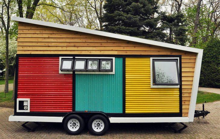 Σπίτι τροχόσπιτο: Είναι το ομορφότεροτου κόσμου και έχει μέχρι και τζάκι