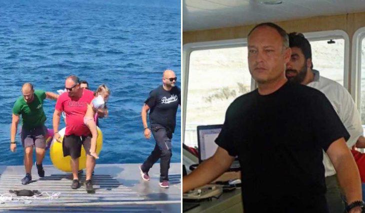 Καπετάνιος ferry boat: Συγκινούν όσα περιγράφει για το κοριτσάκι