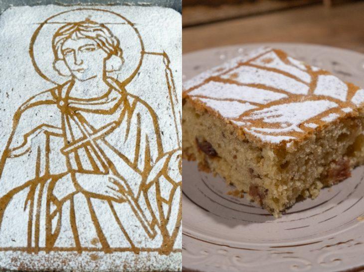 Φανουρόπιτα με Αγιογραφία: Μυστικό για τέλεια φανουρόπιτα με τον Άγιο
