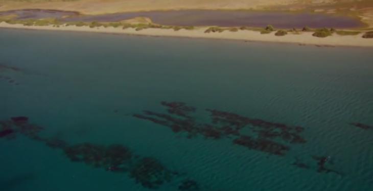Βυθισμένη πόλη: Η αρχαία ελληνική πόλη κάτω από την Ελαφόνησο