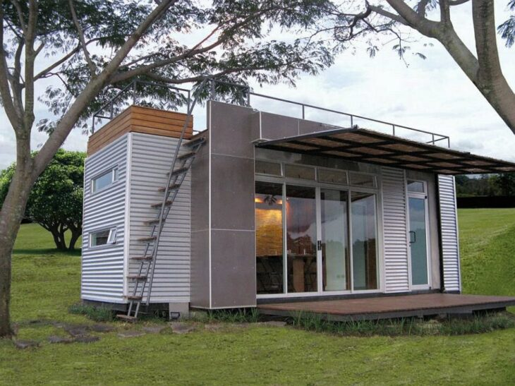 Σπίτια από κοντέινερ: Είναι 31τμ και κοστίζει 7.500€