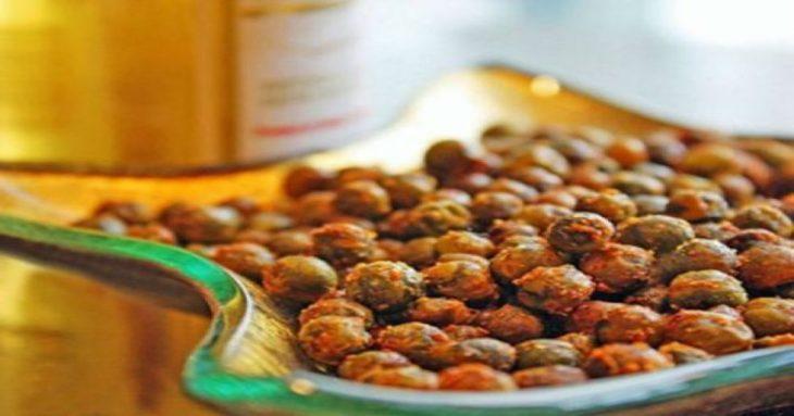 Σνακ για δίαιτα: Πικάντικο σνακ για δίαιτα από αρακά, έτοιμο σε λίγα λεπτά