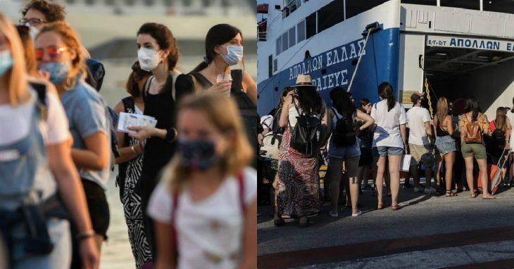 Κορονοϊός λιμάνια: Τι θα ισχύσει σήμερα με τα τεστ σε Πειραιά και Ραφήνα
