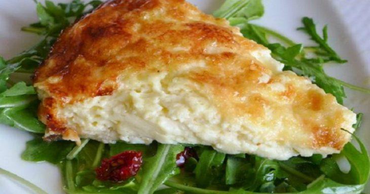Τυρόπιτα με γιαούρτι: Εύκολη συνταγή για τυρόπιτα χωρίς φύλλο