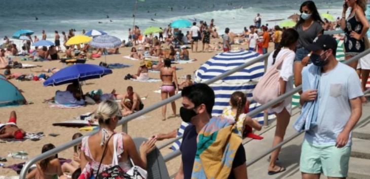 Χαλκιδική παραλίες: Με υποχρεωτική μάσκα στις παραλίες (Βίντεο)