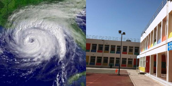 Κυκλώνας Ιανός: Ποιά σχολεία θα είναι κλειστά άυριο.
