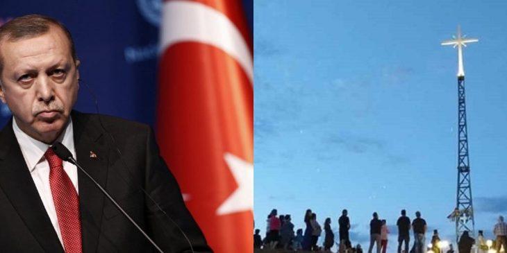 Έβρος: Οργή προκάλεσε στον Ερντογάν ο Σταυρός στη Νέα Βύσσα