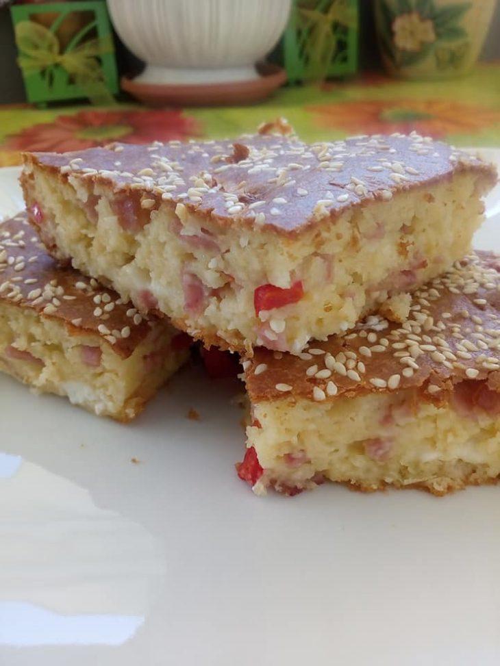 Κέικ με γεύση πίτσας: Το πιο νόστιμο αλμυρό κέικ που δοκιμάσατε ποτέ