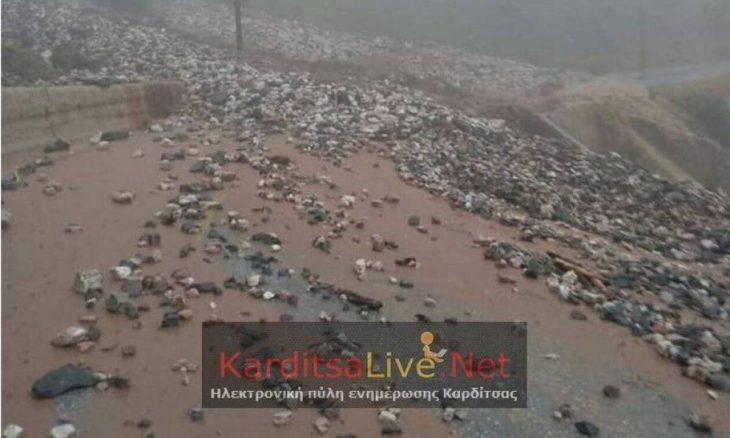 Ιανός Καρδίτσα: Πλημμύρισε η πόλη – Εικόνες βιβλικής καταστροφής από μια νύχτα θρίλερ στην Καρδίτσα