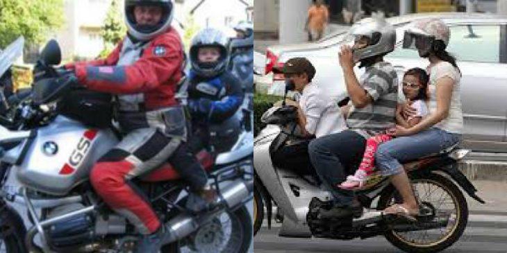 Νέος ΚΟΚ: Αλλάζουν τα πάντα για τα παιδιά σε μηχανάκι