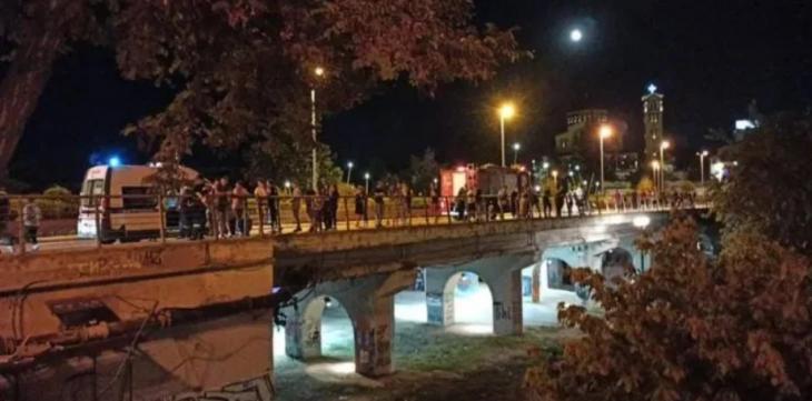 Τροχαίο στη Λάρισα: Εκτινάχθηκαν από τη γέφυρα Αλκαζάρ δύο 16χρονα