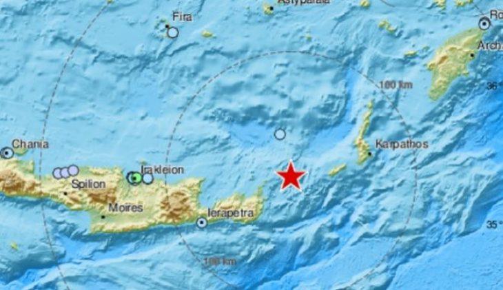 Κρήτη σεισμός τώρα: Μεγάλος σεισμός πριν λίγο - Πόσα ρίχτερ ήταν
