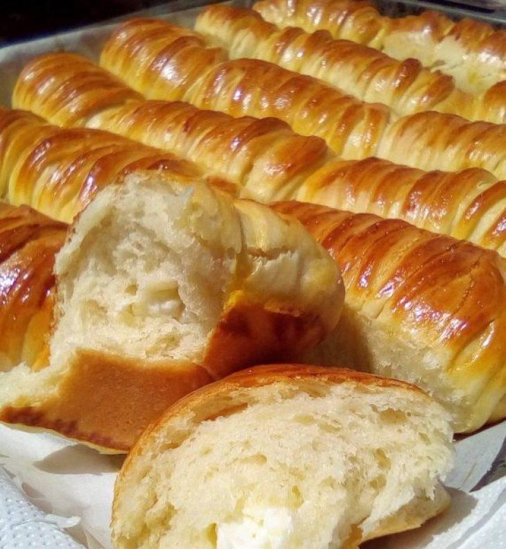 Τυροπιτάκια με γιαούρτι: Μαλακά και αφράτα, κατάλληλα για κολατσιό