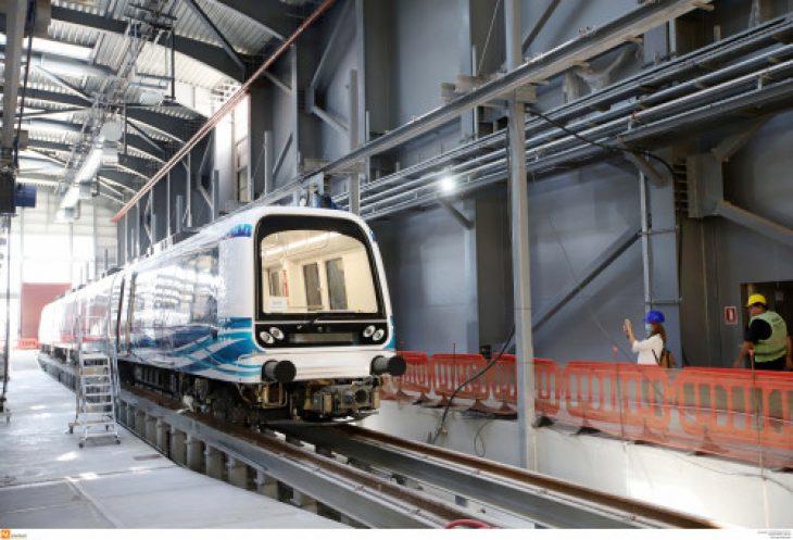Θεσσαλονίκη μετρό: Για πρώτη φορά δοκιμαστική διαδρομή (Εικόνες)