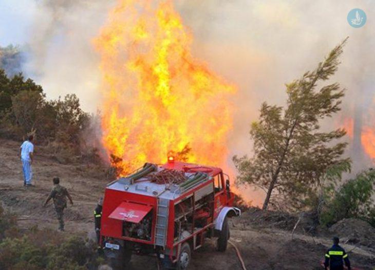 Φωτιές Παρασκευή: Σήμερα 4/9 η πιο επικίνδυνη μέρα του καλοκαιριού