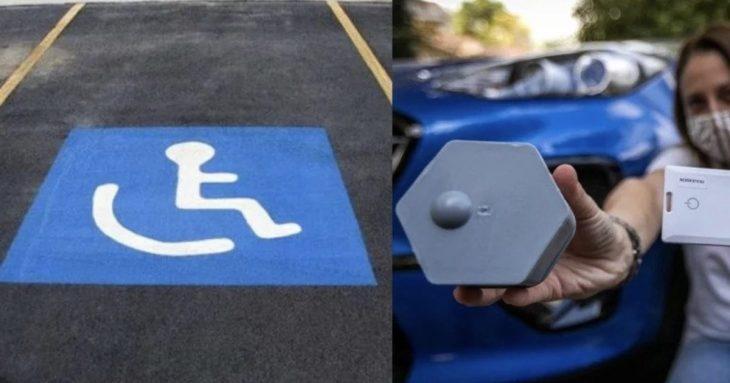 Τρίκαλα: Σύστημα ειδοποιεί την Αστυνομία αν παρκάρεις σε θέση ΑΜΕΑ