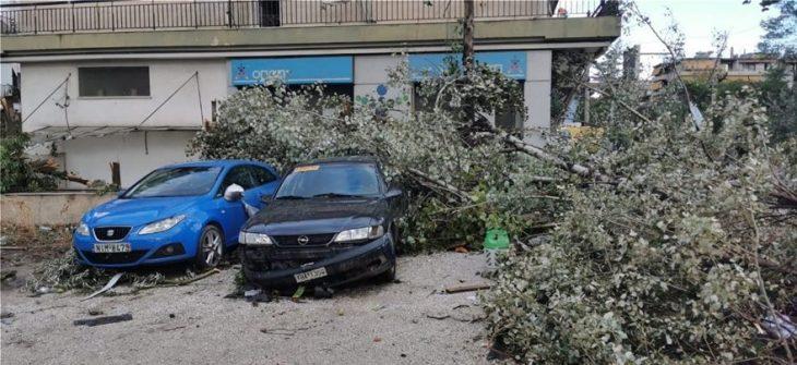 Καταιγίδα στην Αττική: Τεράστιες υλικές ζημιές στο Νέο Ηράκλειο