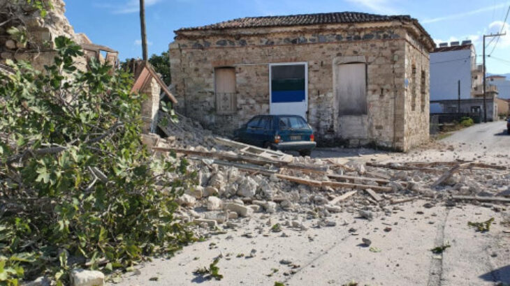Σεισμός Σάμος: Οι πρώτες σοκαριστικές εικόνες από το σεισμό στη Σάμο