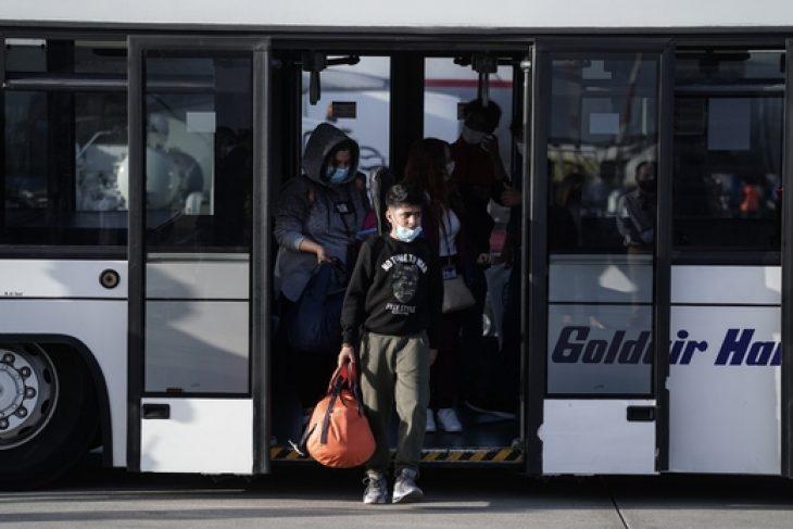Ελλάδα πρόσφυγες: Αναχώρησαν 101 πρόσφυγες από τη Γερμανία