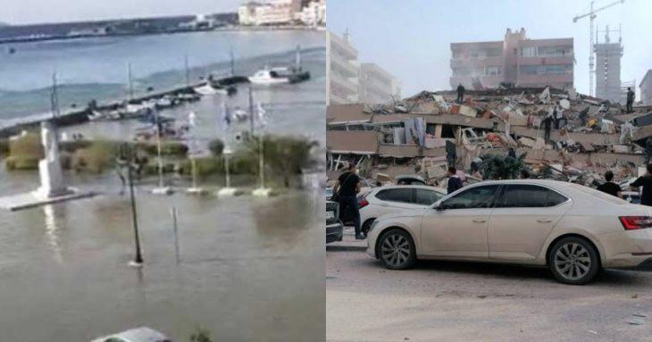 Τσουνάμι στη Σάμο: Τρίτο τσουνάμι χτύπησε την Σάμο