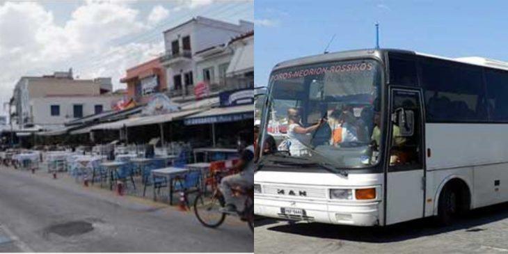 Πόρος Ολλανδοί: Μεθυσμένοι τουρίστες κλέψανε λεωφορείο