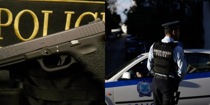 Νέα Ερυθραία: Έκλεψαν το πιστόλι αστυνομικού