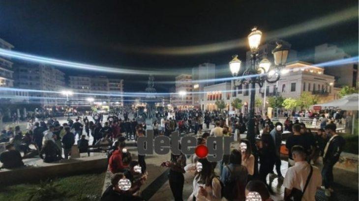 Πάτρα κορονοϊός: Μεταμεσονύκτια κορονοπάρτι στις πλατείες της Πάτρας