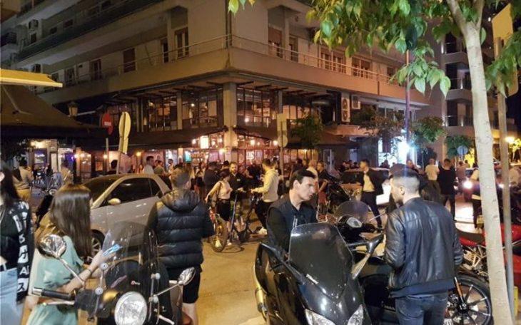 Θεσσαλονίκη κέντρα διαδκέδασης: Απαράδεκτες εικόνες συνωστισμού