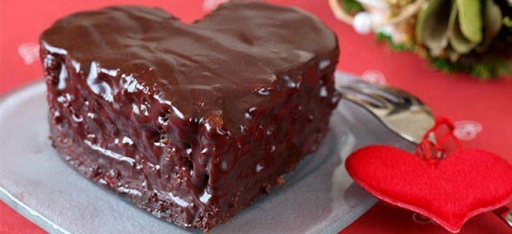 Σοκολατένιος πειρασμός: Το πιο γευστικό γλυκό σε σχήμα καρδιάς
