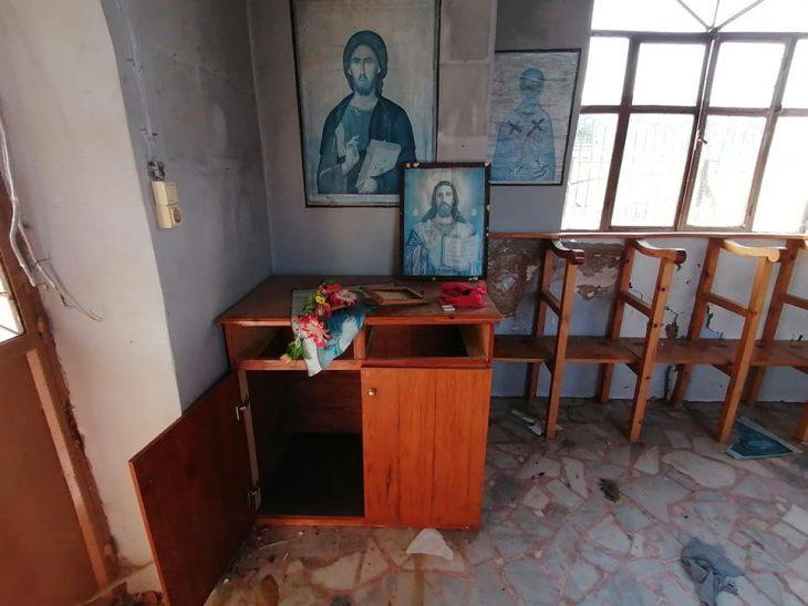 Αγία Αικατερίνη Μόρια: Δυστυχώς χρησιμοποιείται πλέον ως τουαλέτα