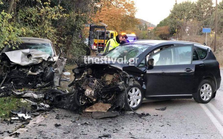 Θεσσαλονίκη τραγωδία: Σοβαρό τροχαίο με έναν νεκρό στα Πεύκα