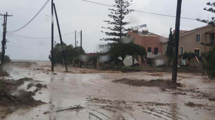 Κακοκαιρία στην Κρήτη: Πλημμύρες και καταστροφές με τη νέα κακοκαιρία